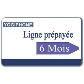 The 6-month prepaid card